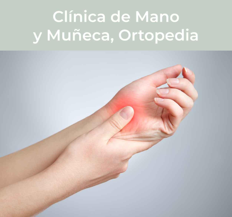 Cirugía de Mano, Muñeca y Ortopedia