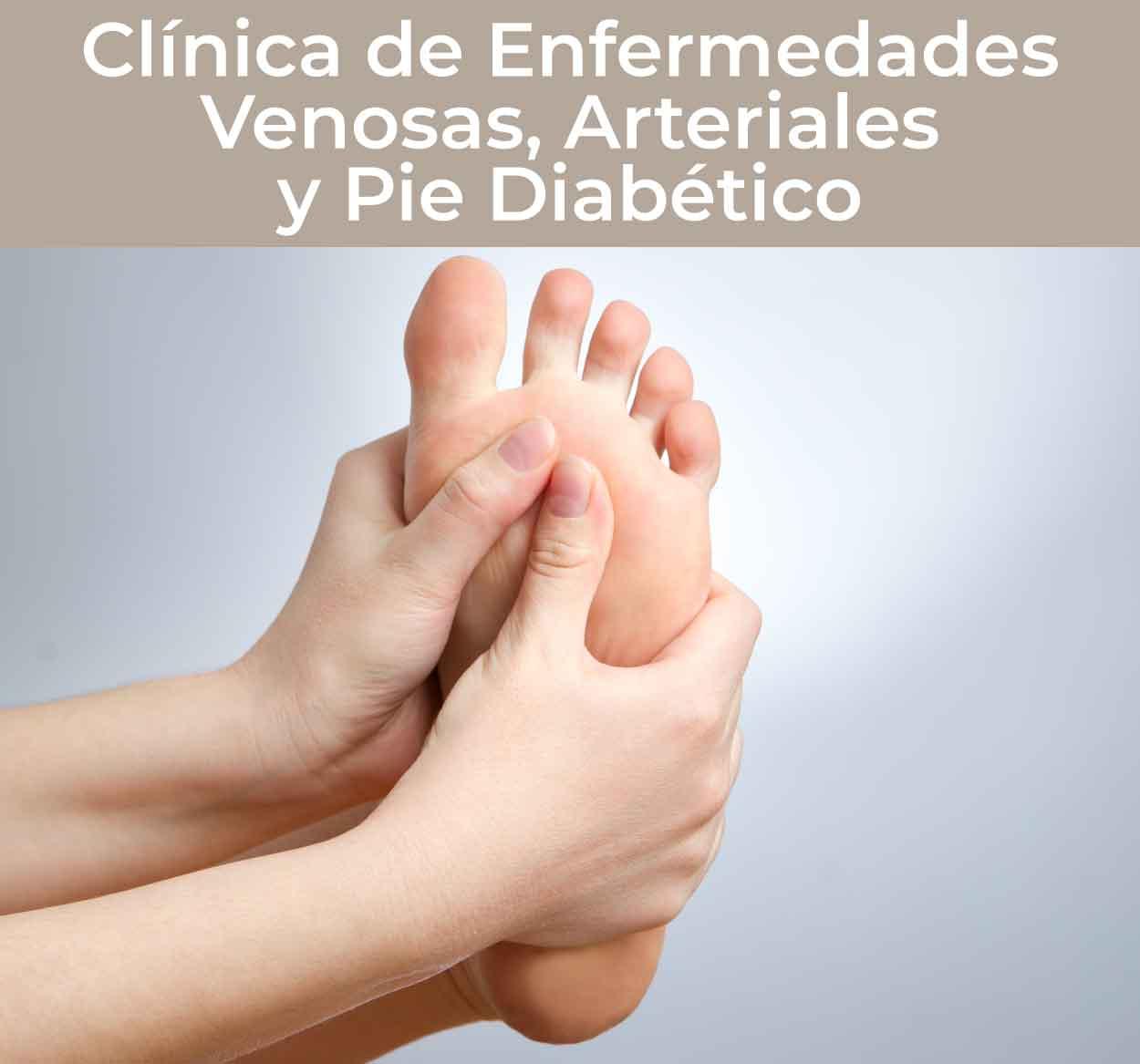 Clínica de Enfermedades Venosas, Arteriales y Pie Diabético